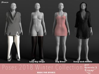 Poses Winter 2018 Collection by Poses17