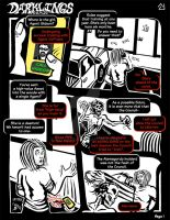 Darklings - Issue 5, Page 1 by RavynSoul