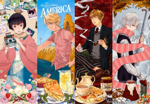 hetalia 4 seasons by tsulala