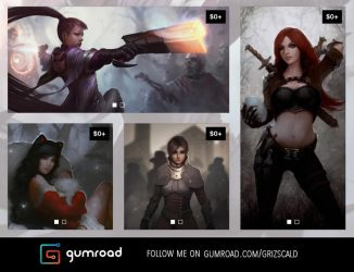 Follow me on gumroad! by dr-grizscald