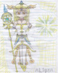 Aligna the Guardian of Reality (Old Drawing) by ThanyTony