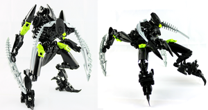 Bionicle MOC - Rorzakh Revamp by Prhymus