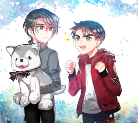 Junior JJ and Seung-gil 2 by wish114