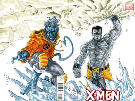 Night crawler and Colossus by Iantoy