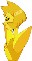yellow diamond by BASEDGUMMY