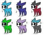 Skull Fuzzy Adopts (open) by Chibi-Butler-Snake