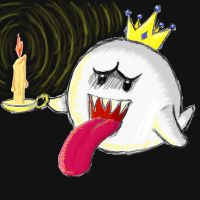 King Boo In The Dark by Toxic-Tooth-Paste