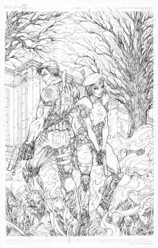 Resident Evil Commission by vmarion07