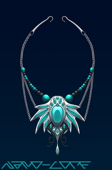 Ice Necklace Auction Adopt (closed) by Nano-Core