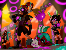 Octoling Strike by efrejok