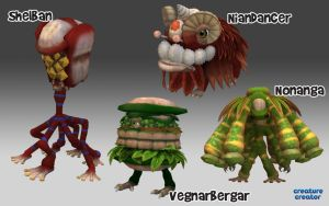 Spore Creations Showcase 9 by bernoully