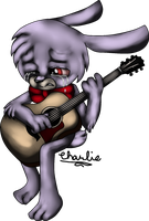 Sad Bonnie by TheLooneyCharboa