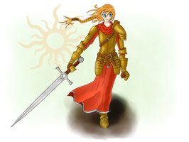Kailia Leoaud, Bearer of the Light by ArchonofFate