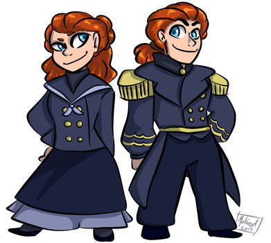 Sailor Twins by Mstic0l