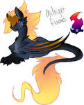Midnight flame by korria1234