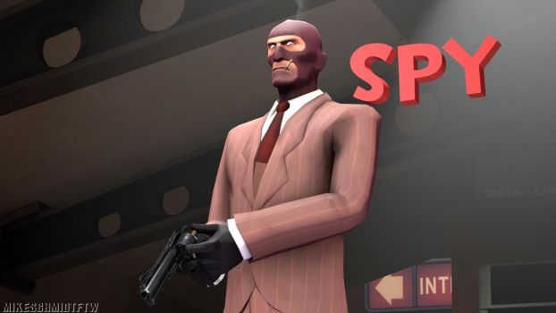 RED Spy (Wallpaper) by OfficerSchmidtFTW