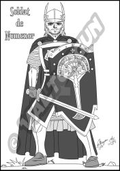 Fanart-Soldier of Numenor MANGA by Valtorgun-le-Grand