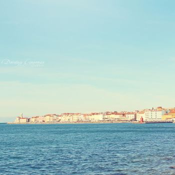 When Sea and a Town Meet by DorotejaC