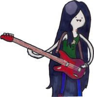 Marceline the Vampire Queen by Rusi-chan