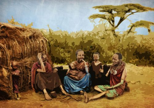 African Family by NeaN