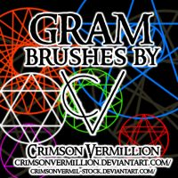Gram Brushes by crimsonvermil-stock