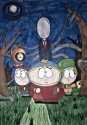 South Park meets Slenderman by RaynaOfTheDead