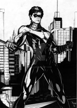 Nightwing by GleBik