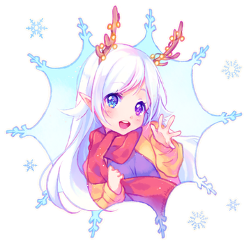 [+Video] Commission - Snow Heart by Hyanna-Natsu