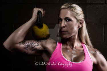 Jen at the Gym by DalePhotography