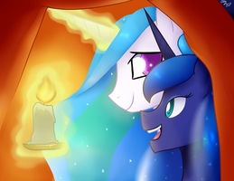 Sister fort by MylittleSheepy