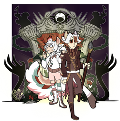 [CM} DST: Tanu and Chinchi by NobleChinchi