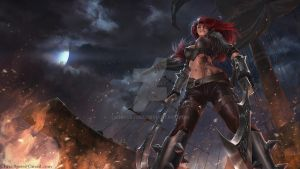 League of Legends: Katarina by ChrisBjors