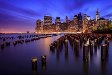 The magic lights of New York V2 by BrunoCHATARD