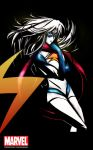 Ink cut: Ms Marvel by The-Longfall-of-1979