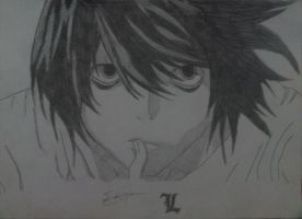 L's Drawing by StefanosDTsougranis