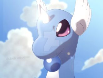 Dragonair catches some rays by piturantonio