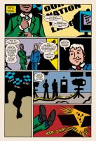 Lady Spectra and Sparky: Symbiotic Man pg. 11 by JKCarrier