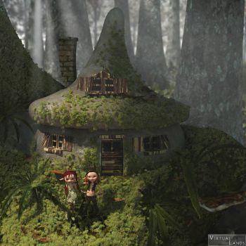 Faery home by Offrench