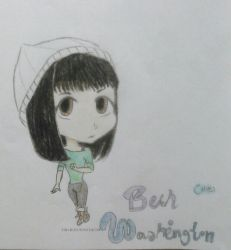 Beth Washington #9 (chibi) by Nadia-Disney