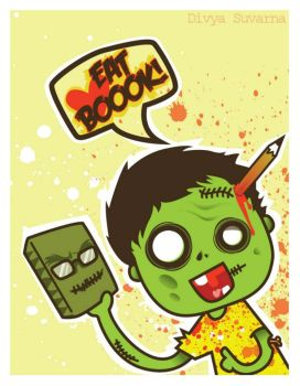 Eat Book by seishou-chan