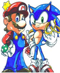 mario and sonic by trunks24