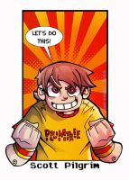 Scott Pilgrim by cool-slayer