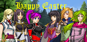 Easter Card 1 by ImprovmanZero