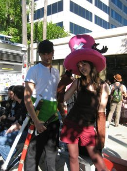 Zoro and Chopper of One Piece by agcpictures