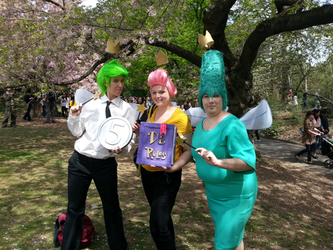 Fairly Oddparents Cosplayers by StealthNinja5