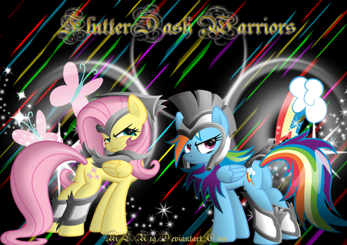 FlutterDash Warriors by FlutterDash75