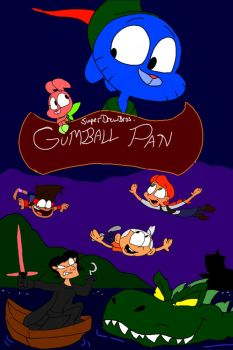 SuperDrewBros' Gumball Pan by SammyD-Productions