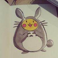 Original Totochu Drawing by ditto9