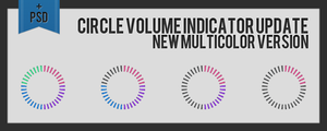 Circle Volume Indicator by midnighttokerkate