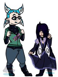 Charony clothes swap by CarioLeader